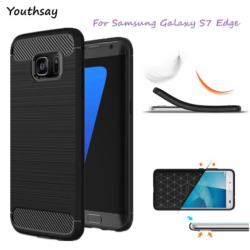 Youthsay For Fundas Samsung Galaxy S7 Edge Case G9350 Slim Protector For Samsung Galaxy S7 Edge Case