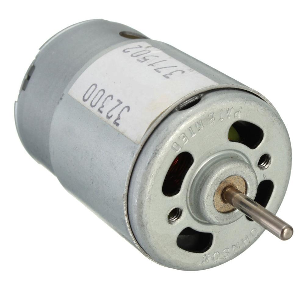 Motor de torque grande modelo, recém chegado DC3-12V tensão avaliada 9v 20w motor de 380