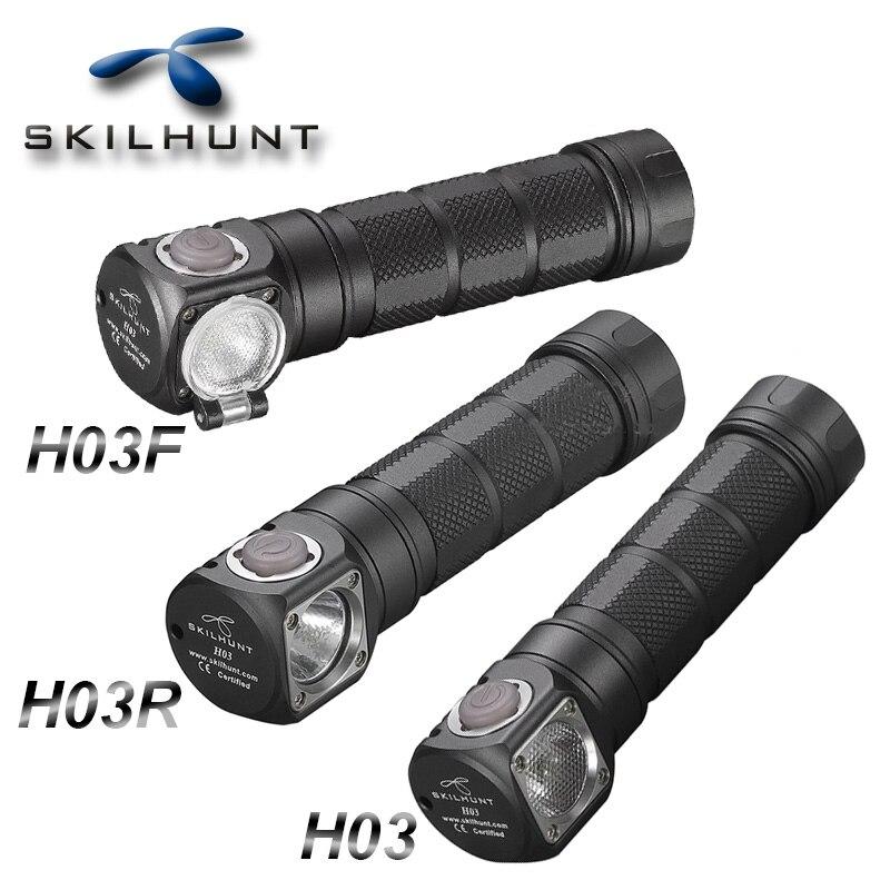 Skilhunt h03 h03f h03r led farol lampe frontale cree xml1200lm usb recarregável farol para caça pesca acampamento