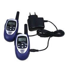 Paire mini T228 enfants jouet 500m talkie-walkie 2 voies Radios portable CB radio émetteur-récepteur interphone VOX PMR 446 w/chargeur casque