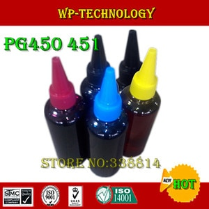 Dye ink,Suit for PGI450 CLI451,Suit for Canon PIXMA MG5440 MG6340 Ip7240,Specialized High quality Ink, 5 Color.