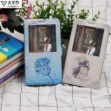 Finestra di caso di vibrazione di caso per Xiao mi rosso Mi nota 4 Un x PRO C Mi S pittura FUNDAS Custodia protettiva del fumetto carta capa copertura per Xio mi 4A 4X 4C 4 s