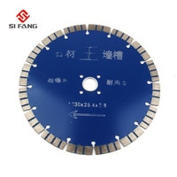 9''Inch 230mm Dia Diamond Saw Blade U Tooth Dry Cutting Diamond Wheel Disc Stone