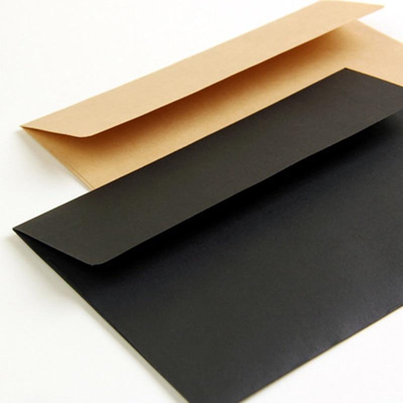 Kraft Paper Envelope Three Colors  Vintage Blank Letter Writing 10pcs/lot 16*11cm