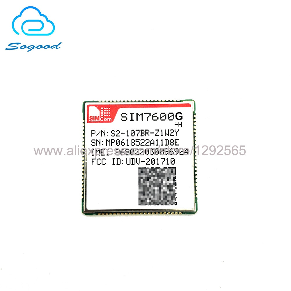 SIMCOM SIM7600G-H LCC LTE-TDD LTE-PDD к оператору сотовой связи HSPA + GSM/GPRS/EDGE UMTS Cat4 модуль совместим с SIM7600 SIM7500 SIM7600X-H серии