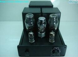 Iwistao 2x6.5 w hifi amplificador de tubo pure class a 5z3 retificador srpp 6n3 pré-amplificador de potência 6p3p push-pull circuito liga de alumínio