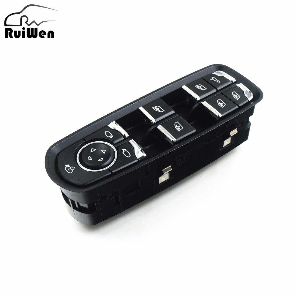 Botón del interruptor de Control de la ventana del espejo de la puerta delantera para Porsche Panamera Cayenne Macan 2009 2010 2011 2012 2013 2014 2015 2016 2017