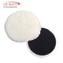 1Pc tampone per lucidatura lana per lucidatrice ceretta lucidatura lucidatura auto vernice cura lucidatore pastiglie per lucidatore auto 4/5/6/7 pollici