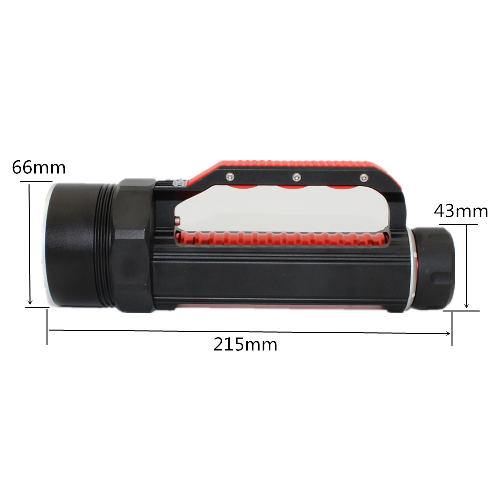 Updated UV light diving flashlight 6 x Ultraviolet UV LED Waterproof underwater scuba torch dive laterna search scorpion / amber enlarge