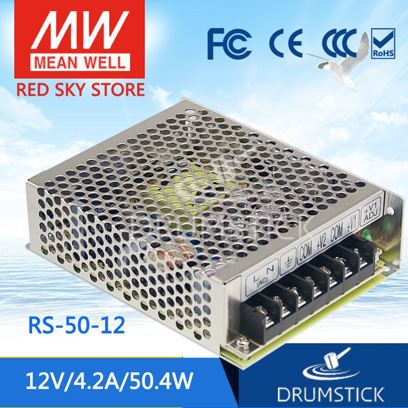 advantages mean well cen 75 15 15v 5a meanwell cen 75 15v 75w single output led power supply Steady MEAN WELL RS-50-12 12V 4.2A meanwell RS-50 12V 50.4W Single Output Switching Power Supply