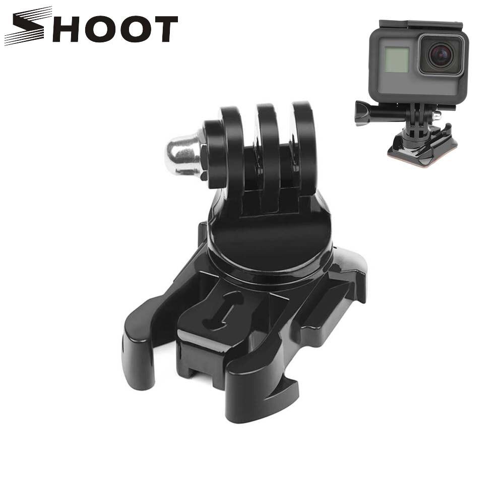 SCHIEßEN 360 Grad Drehen Quick Release Schnalle Vertikale Oberfläche Mount für GoPro Hero 8 7 5 4 Sjcam Sj4000 Xiaomi yi 4K Eken Kamera