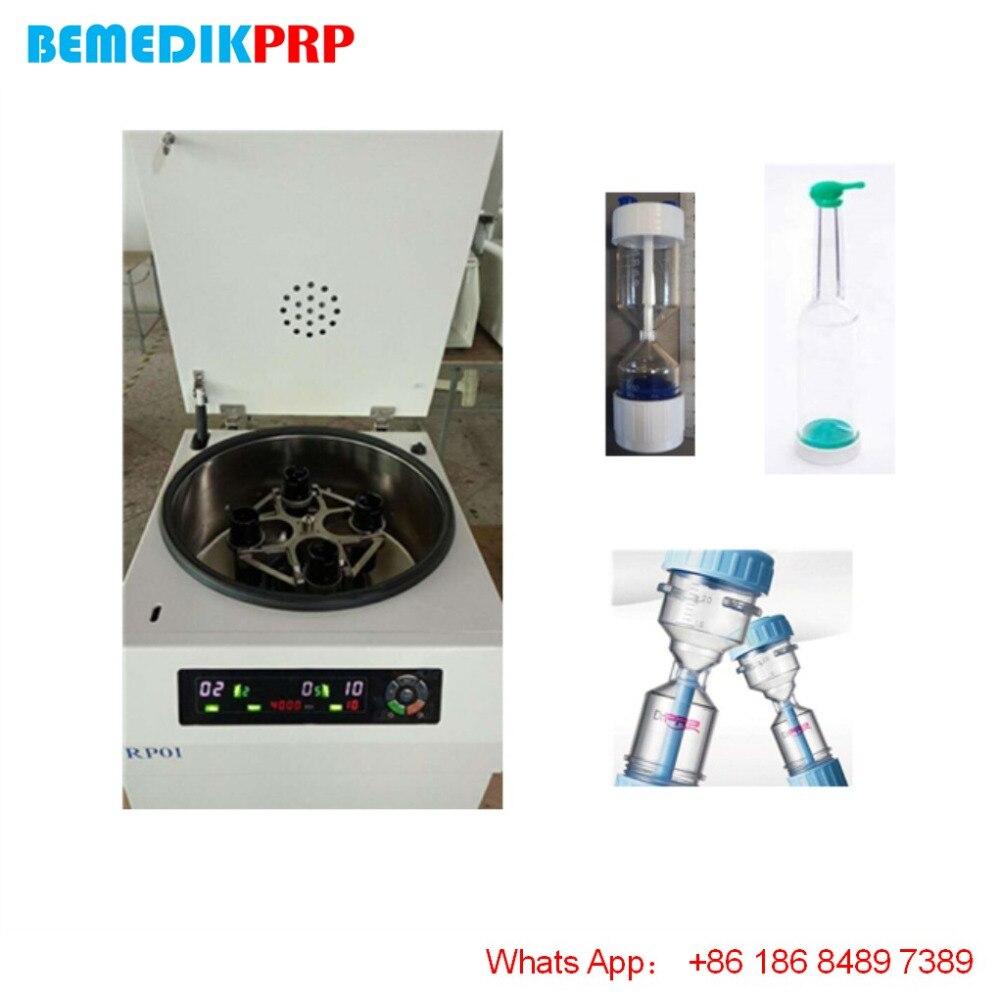 Máquina centrífuga de plasma sanguíneo rotor oscilante para PRP kit Dr PRP 3E PRO 30ml GENESIS CURE para el cabello, facial, piel y tratamiento dental