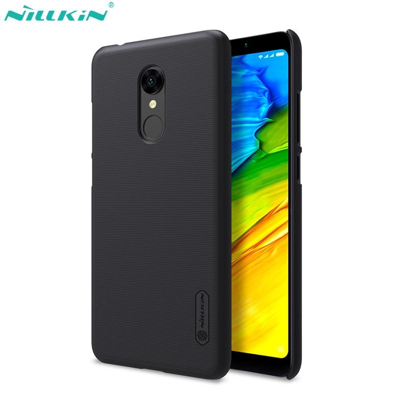 Funda Nillkin Super Frosted funda protectora para Xiaomi Redmi 5 caso 5A 5 Plus cubierta de la PC cubierta mate para Redmi Nota 5 caso