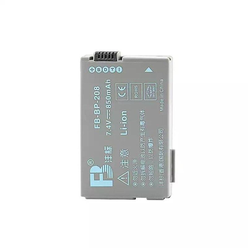 BP-208 BP208 Filmadora baterias de lítio BP-208 Para Canon DC201 DC210 DC211 DC220 DC230 100 FVM300 Bateria Câmera Digital