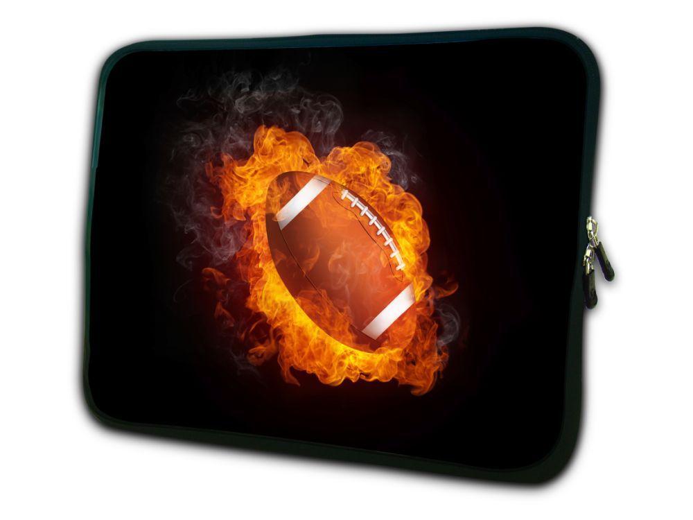 "Fútbol 12 ""neopreno suave Laptop Netbook manga funda bolsa funda para 11,6"" Dell m11x alienware, resistente al agua, a prueba de golpes a prueba"
