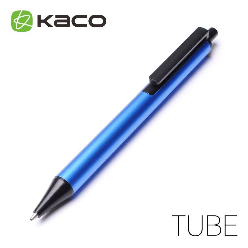 2 piezas KACO tubo jóvenes serie Gel pluma de firma de 0,5/0,6 MM líquido de recarga de tinta de Color modelos de Estrellas clásicas al azar