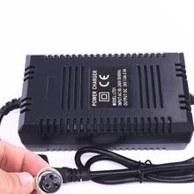 높은 품질 24v 스마트 충전기 리드 산 성 배터리 전기 스쿠터 전원 어댑터 전자 스쿠터 충전기 24V 1.8A eu 플러그 220v