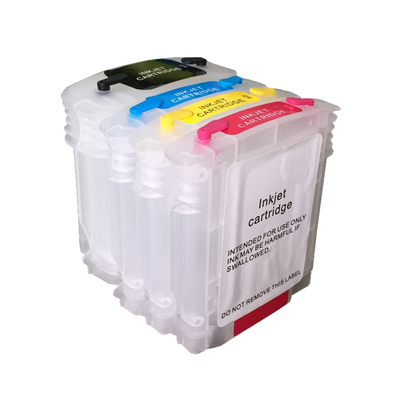 Vilaxh 940 940xl vazio cartucho de tinta recarregável com chip para hp adequado hp officejet pro 8000 8500 8500a impressora