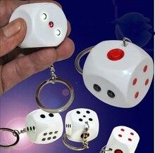 Jouet électrique choc nouveauté porte-clés blague jouet dés blague cadeau astuce marchandises fête des fous davril cadeaux choquer votre ami