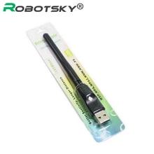 Ralink RT5370 150M USB 2.0 WiFi carte réseau sans fil 802.11 b/g/n LAN adaptateur avec antenne rotative et paquet de vente au détail XC1290