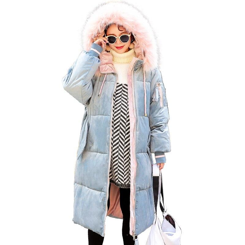 2019 New Korean Version Parker Maternity Clothes Winter Jacket Cotton Coat Women's Jacket Long Loose Large Size Cotton Outerwear недорого