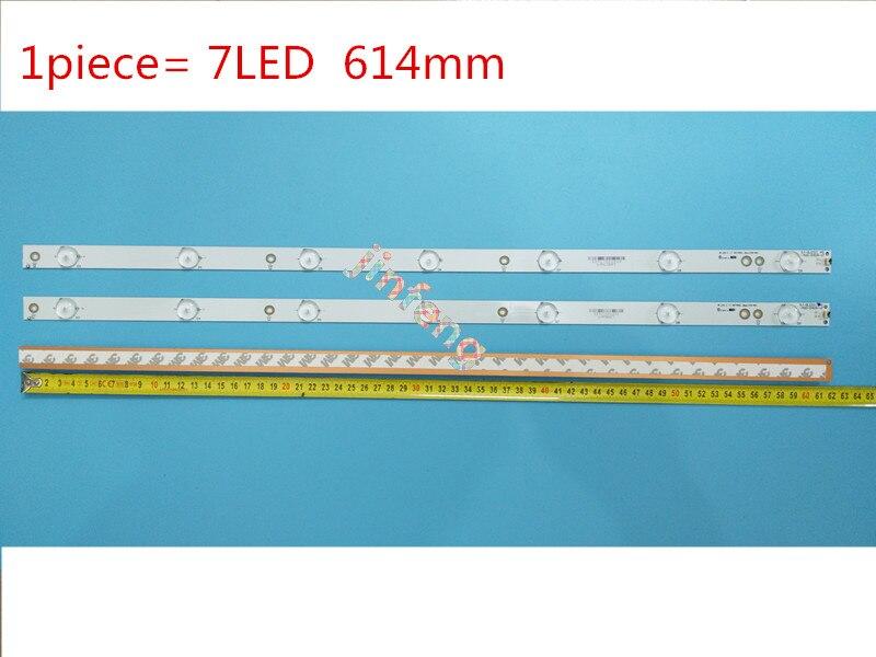 1 مجموعة = 9 قطعة LBM320P0701-FC-2 LED الخلفية strips32PFK4309-TPV-TPT315B5 32PFK4309 32PHS5301 TPT315B5 LB-F3528-GJX320307-H 32E200E