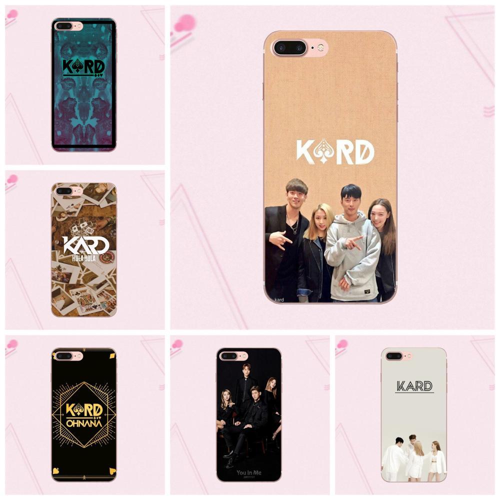K-pop coreano K a r d grupo TPU teléfono caso para Galaxy Grand A3 A5 A7 A8 A9 A9S On5 On7 Plus Pro estrella 2015, 2016, 2017, 2018