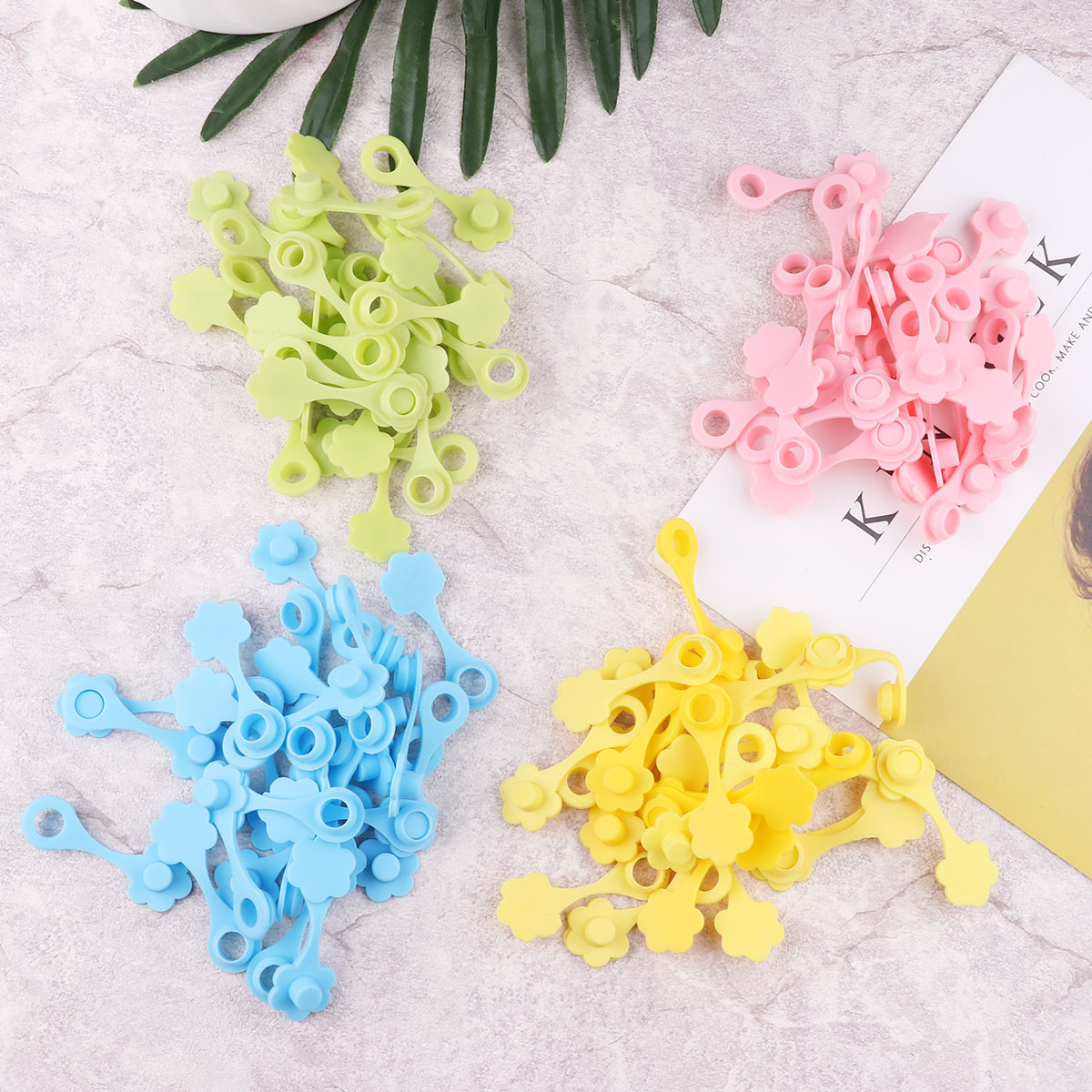 100 tapas de tarros Mason tapas tapones decorativos de silicona en forma de flor tapones 70mm tarros de paja de conservas agujero no derrame tapa tapón