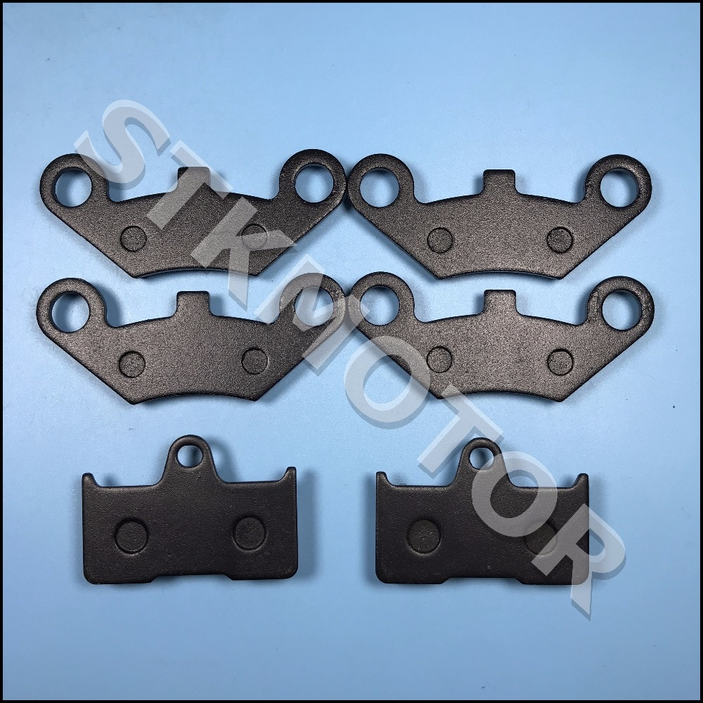3 Sets 6PCS Front and Rear Brake Pads For CFMOTO CF CF500 500CC CF600 600CC X5 X6 X8 U5 UTV Shineary 4 x 4