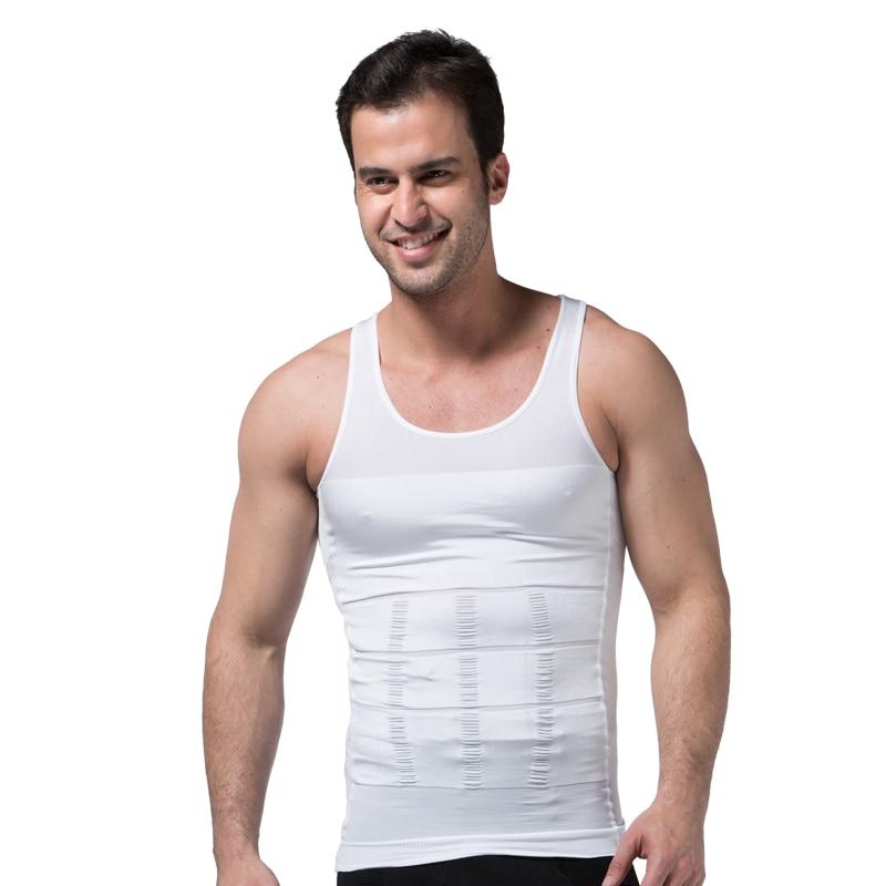 Männer Abnehmen Körper Shapewear Korsett Weste Hemd Compression Bauch Bauch Bauch Control Schlanke Taille Cincher Unterwäsche