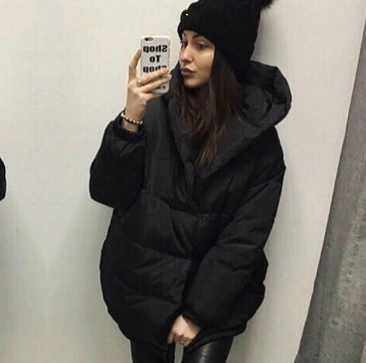 2018 Ukraine Rushed Limited Cotton Long Solid Single Breasted Wide-waisted Women Winter Coats Fashion Coat Thick Warm Woman