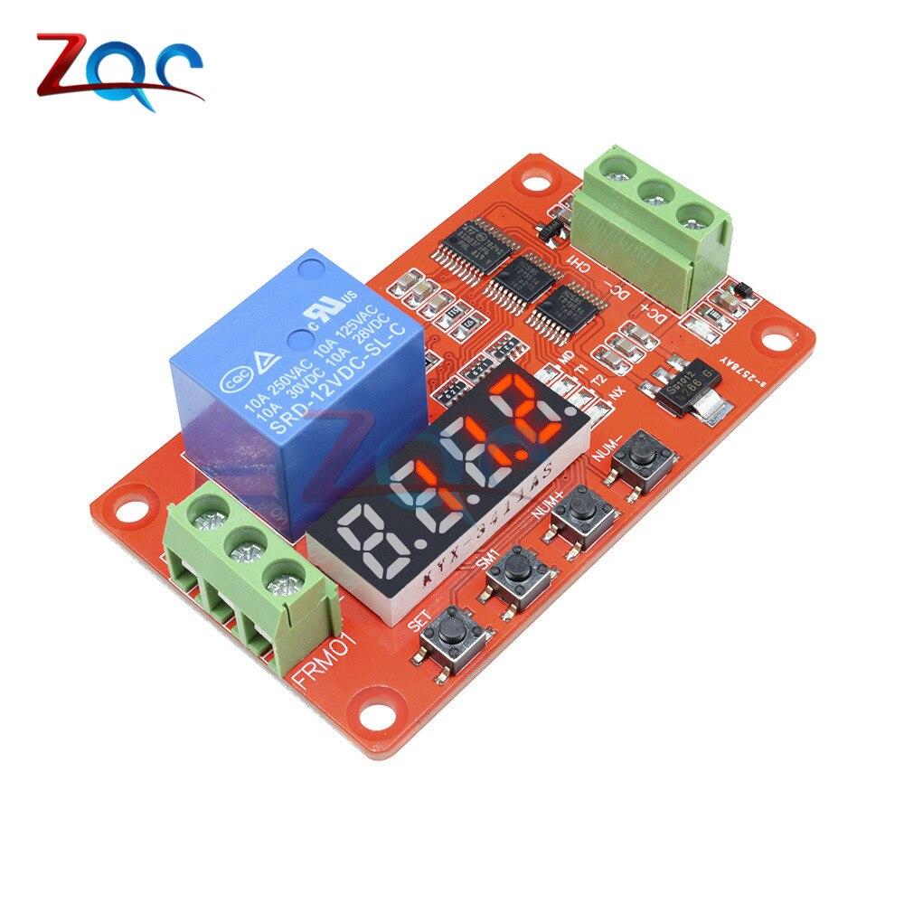 12V DC משולב עצמי נעילת ממסר PLC מחזור עיכוב זמן טיימר מתג מודול PLC בית האוטומציה עיכוב מודול