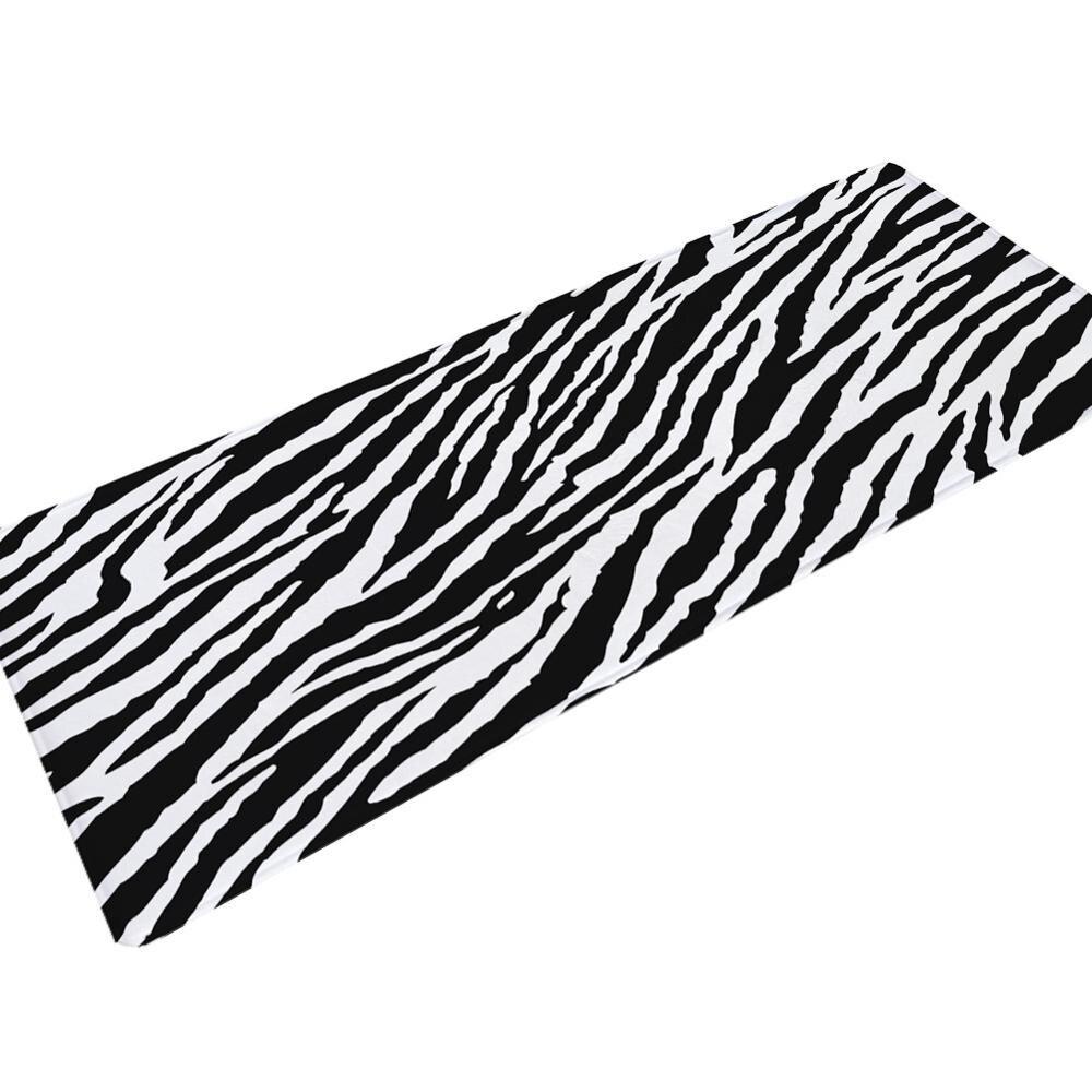 Drop schiff Leopard zebra Anti-slip Fußmatte Outdoor Fußmatte Teppich Für Küche Bad Wc Tapete Teppich Veranda Tür Matte