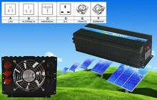 Prix du fabricant   Certificat CE & ROHS, onduleur à onde sinusoïdale Pure sans grille, onduleur solaire 6000W