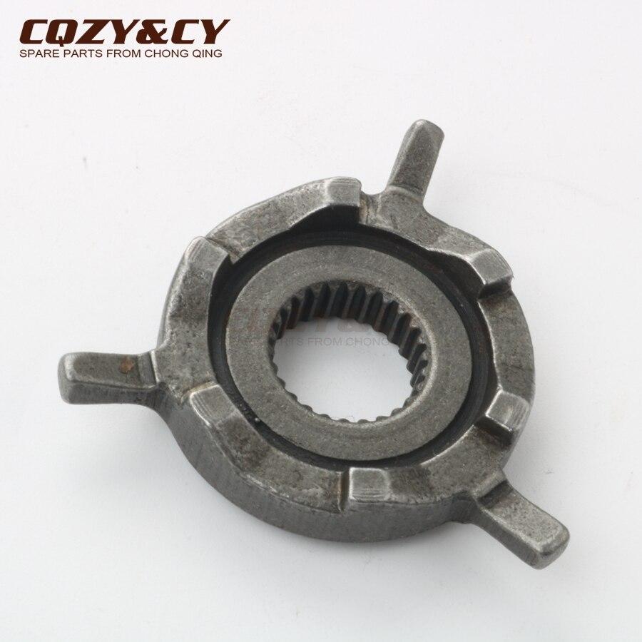 Roller Kickstart angetrieben getriebe für China GY6 50cc 80cc 100cc 139QMB 139QMA 4 hub
