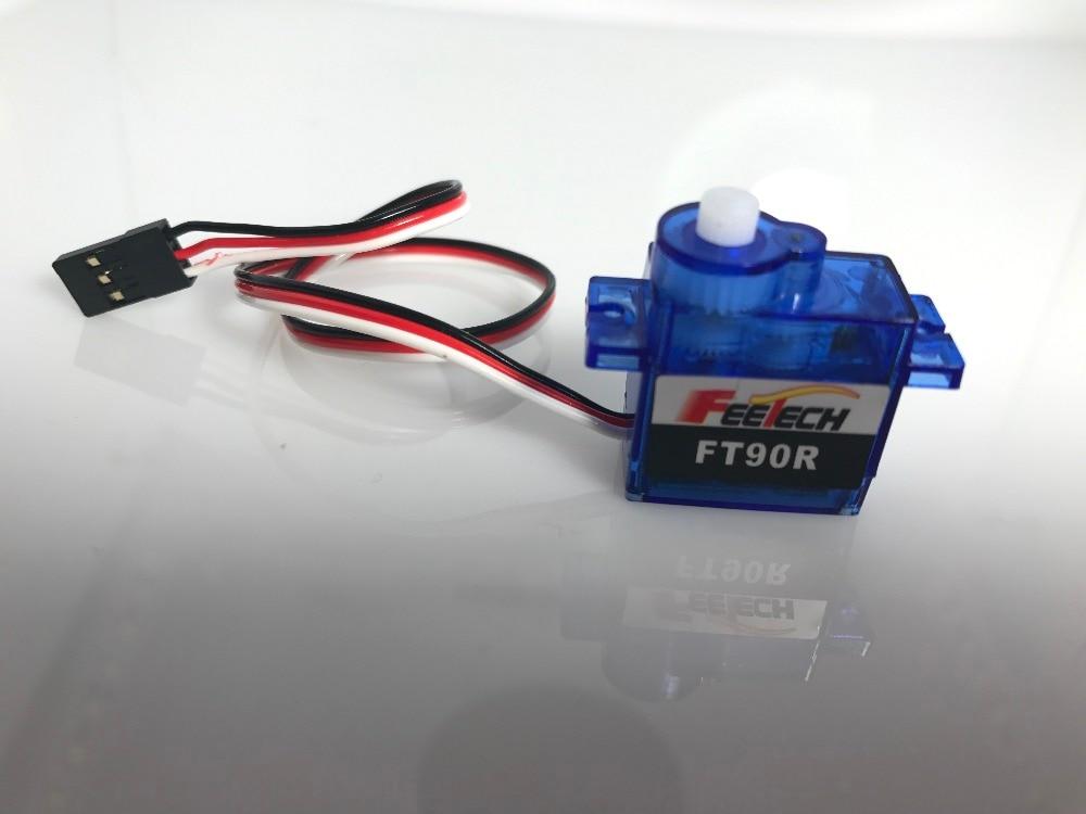 10 шт. FEETECH FT90R цифровой микро сервопривод непрерывного вращения 9g Мини Серводвигатель ШИМ 360 градусов