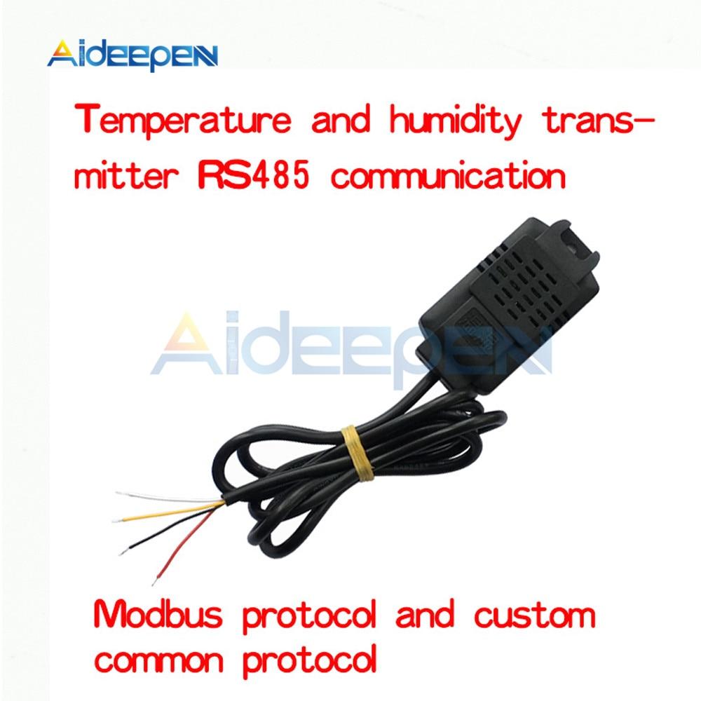 SHT20 Температура влажность Сенсор промышленных Класс Высокая точность Температура влажность передатчик мониторинг Сенсор Modbus RS48 датчик modbus