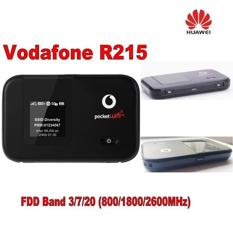 desbloqueado 150mbps vodafone r215 bolso lte 4g modem roteador wi fi com display