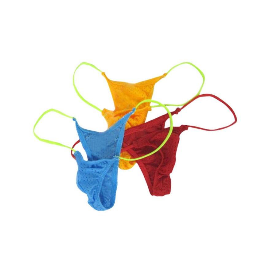 New mini small small pants thong small hole eye movement cloth gay underwear jockstraps