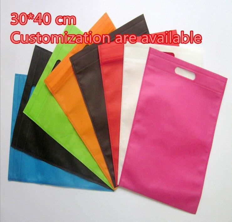 Bolsas de organza de 10 uds/lote de 30x40 cm sin ziplock bolsas de plástico de Navidad bolsas