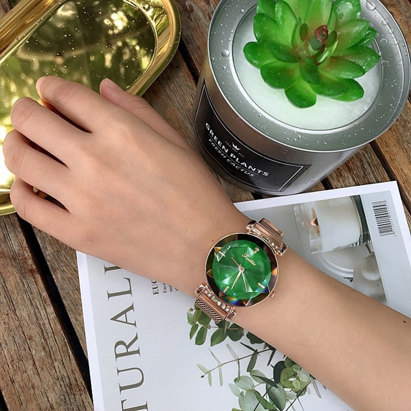 2019 Luxury Woman Watch Women Magnet Buckle Dress Watches Fashion Woman Quartz Watchs Luxury Stainless Steel relojes para mujer enlarge