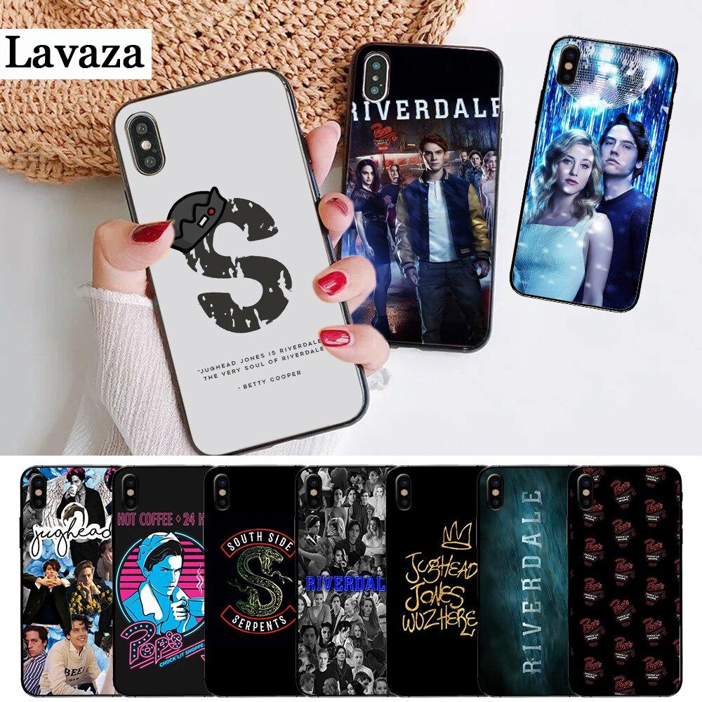 Hot TV Riverdale dominante funda de silicona para iPhone 5 5S 6 6S Plus 7 8 11 Pro X XS X Max XR