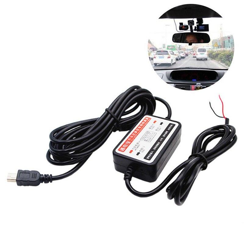 12V-24V to 5V Mini USB DC Car Charger Hard wire Kit for In Car Dash Cam Camcorder DVR