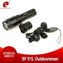 Element Airsoft тактический светильник SF E1L с двойным выходом светодиодный светильник для вспышки 200 люменов, оружейный светильник, оборудование д...