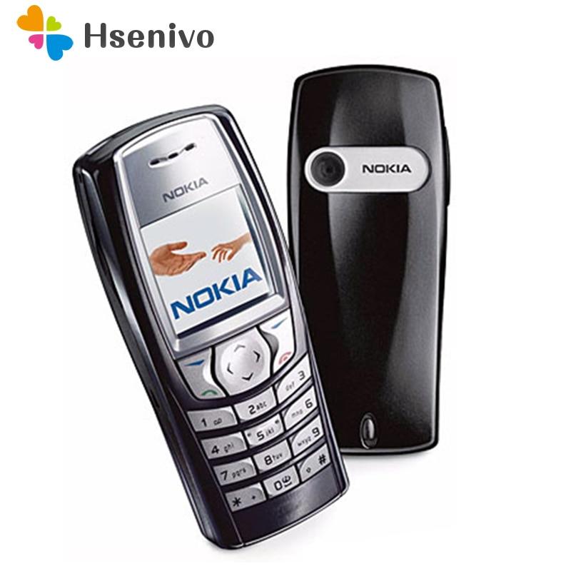 100% Original desbloqueado Nokia 6610 desbloqueado GSM Bar teléfono móvil support inglés/ruso/Árabe teclado