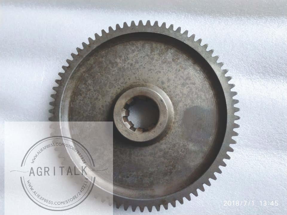 Conjunto de final Engranaje grande y pequeño equipo para tractor shenniu SN250 SN254 SN304 parte número 25.39.105 + 25.39.125 un