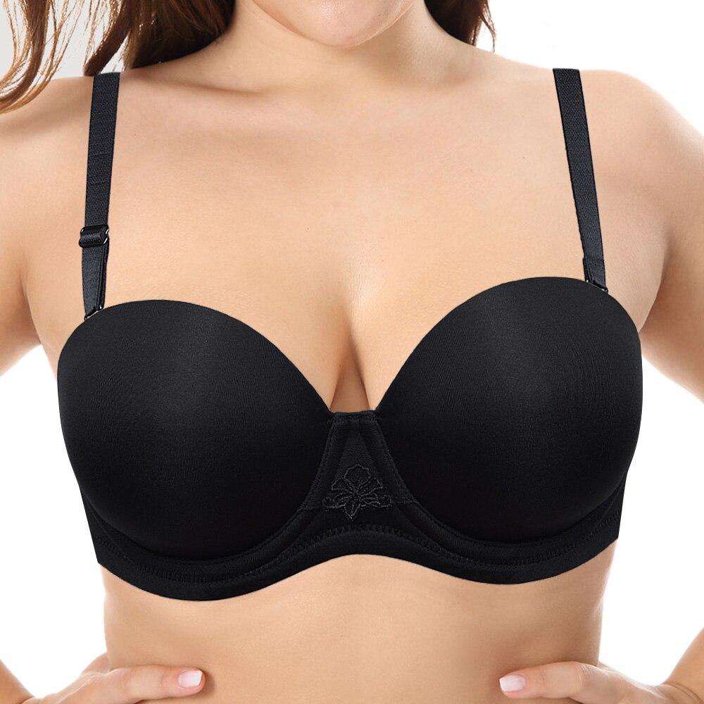 YANDW Women's Multiway Underwire Plus Size Bra 32 34 36 38 40 42 44 B C D DD E F G H Best Quality