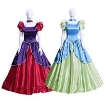 Cendrillon mauvaises soeurs Anastasia déguisement robe de princesse femmes adultes Halloween Cosplay costume
