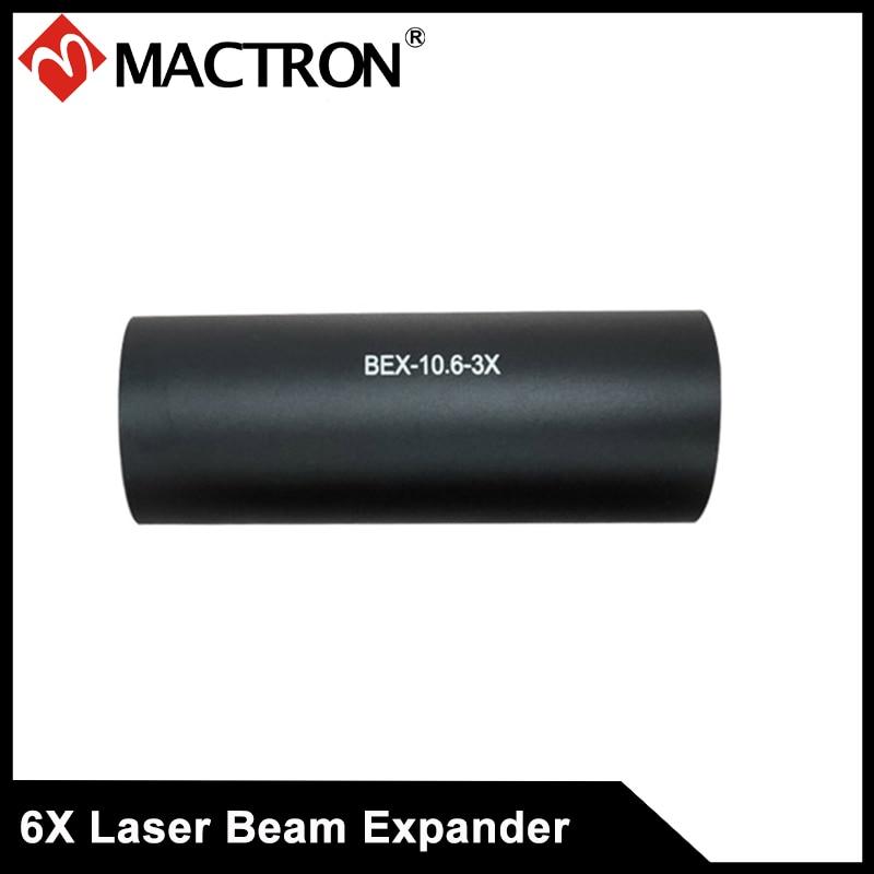3X CO2 expansor de haz láser especial para láser de vidrio tubo máquina de marcado