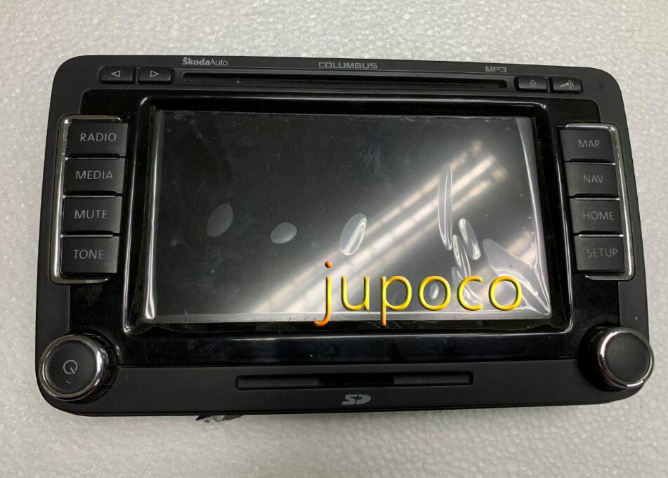 Nuevo ensamblaje Original de pantalla de gama de LCD CLUMBUS RNS510